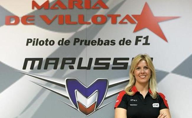 Maria de Villota, en una imagen de 2012. La piloto falleció el pasado viernes en Sevilla. Archivo EFE