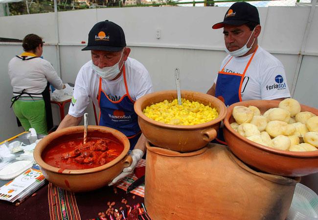 La gastronomía boliviana se alía con la