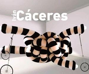 Obras del artista Iván Cáceres en Artespacio CAF