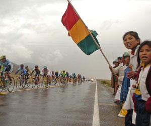Prevén habilitar más del 50% de la doble vía La Paz-Oruro para la 'Vuelta a Bolivia'