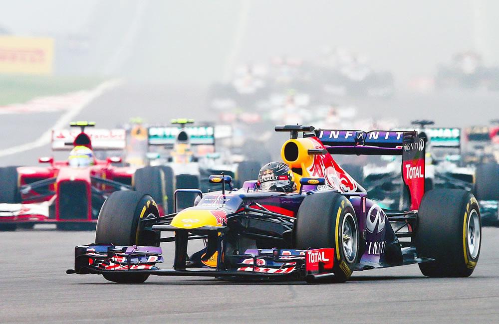 Pilotos durante el Gran Premio de Japón. EFE