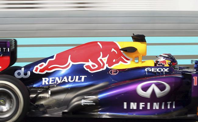 Vettel es el más rápido de los segundos entrenamientos libres en Abu Dabi. EFE