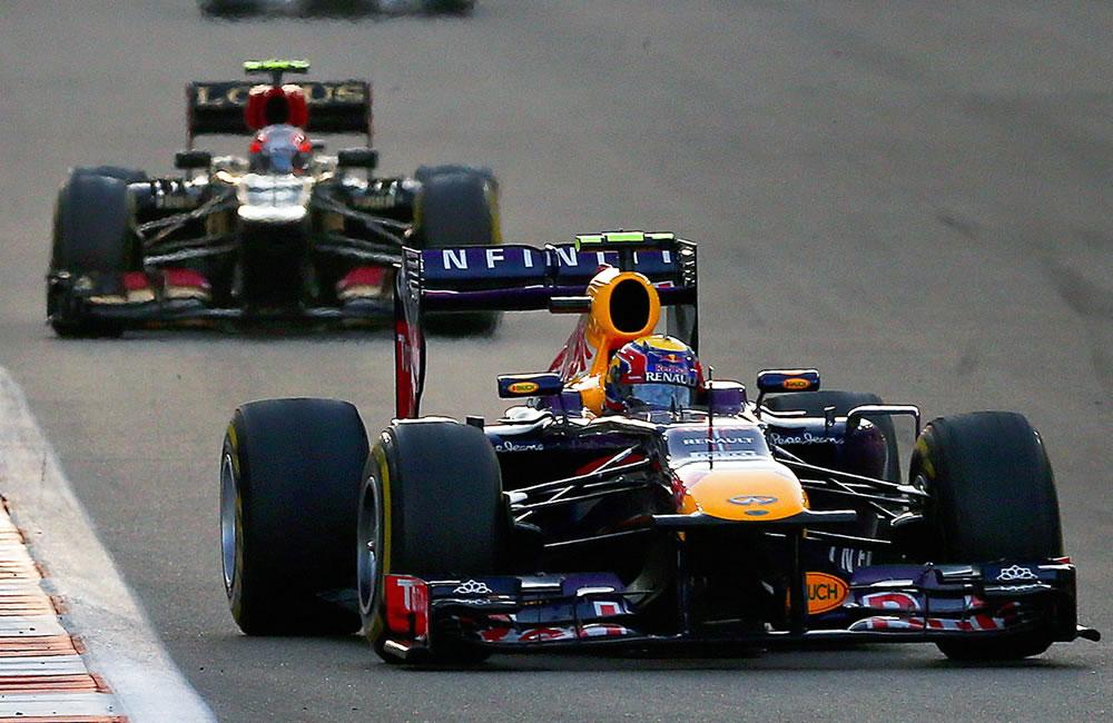 El piloto australiano Mark Webber durante el Gran Premio de Abu Dabi. EFE