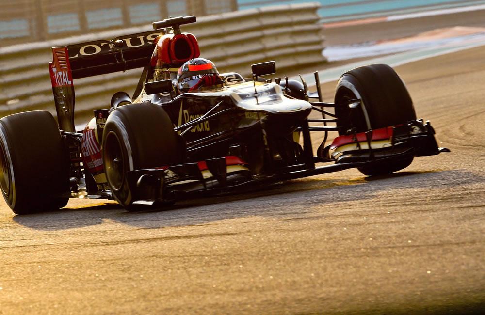 El piloto finlandés Kimmi Raikkonen durante el Gran Premio de Abu Dabi. EFE