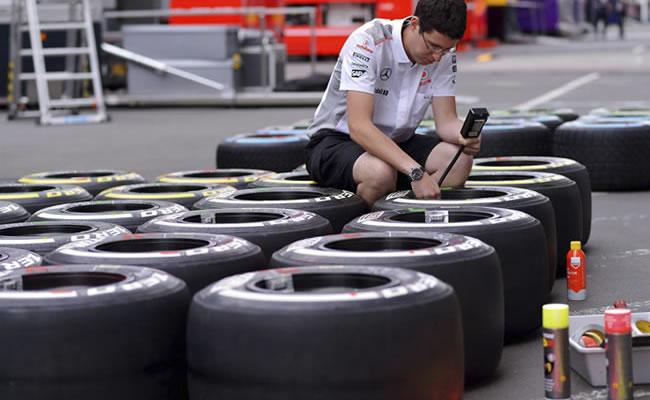 Pirelli elige neumáticos medios y duros para el GP de Estados Unidos. Archivo EFE