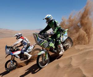 El Dakar 2014 separará el recorrido de coches y el de motos