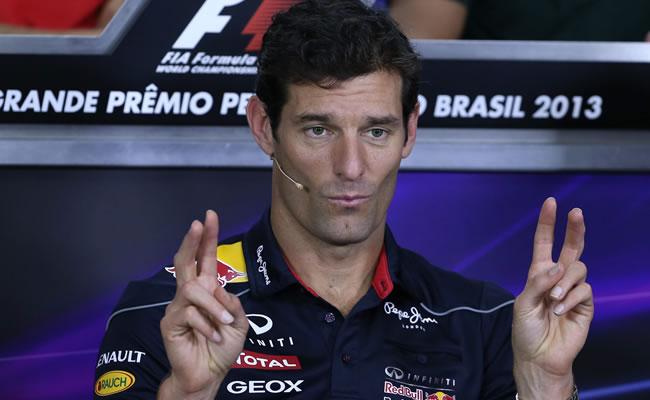 Mark Webber, a una carrera de su retiro, afirma que tuvo un año