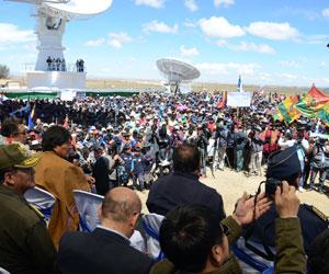Proyectan un segundo satélite boliviano