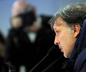 Martino no está satisfecho con el nivel del Barsa