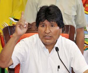 Morales señala que en Bolivia se respetan los derechos humanos