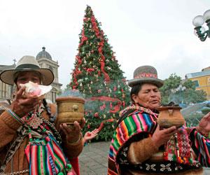 Gobierno reivindica figura del Ekeko en Navidad de pueblos andinos