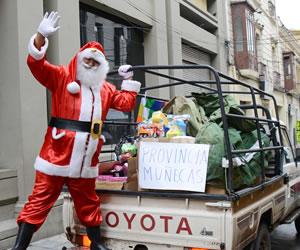 Inician distribución de juguetes en las provincias de La Paz