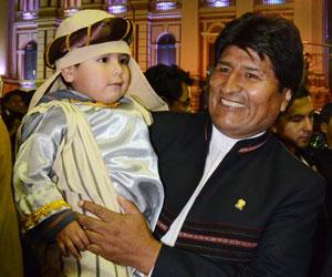 Mensaje navideño al pueblo boliviano