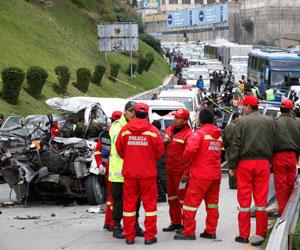 Accidentes de tránsito en La Paz, dejan al menos nueve muertos