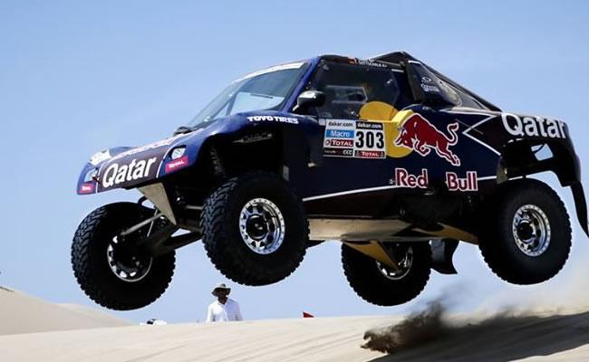Paraguay será sede del Dakar Series en 2014 con el Desafío Guaraní. Foto: EFE