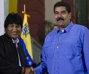 Maduro y Morales hablaron sobre las próximas cumbres de Mercorsur y Celac