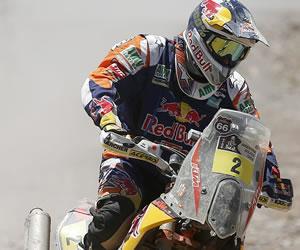Coma gana con holgura la quinta etapa y lidera el Dakar con amplia ventaja