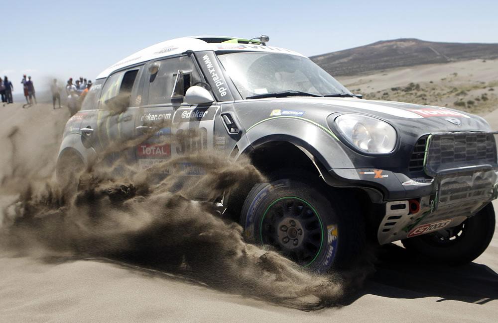 El Dakar más extremo en América Latina. EFE