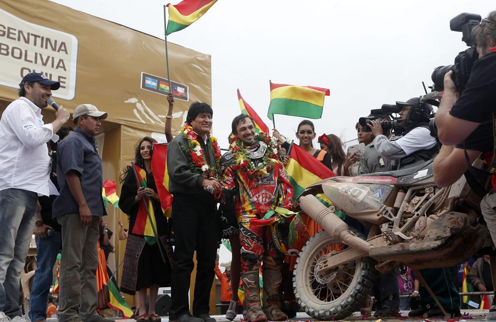 El presidente de Bolivia, Evo Morales. EFE