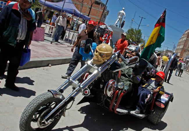 A pocas horas del paso del rally Dakar 2014 por Bolivia. ABI