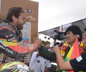 El pueblo boliviano no olvidará nunca el paso del Dakar por Bolivia