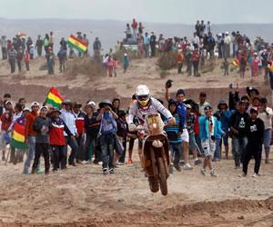 Turistas recalcan la belleza de Bolivia tras el paso del Rally Dakar