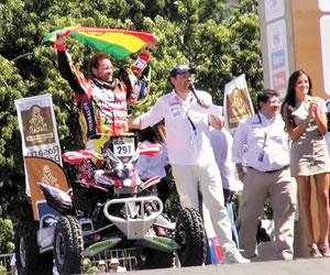 Walter Nosiglia abandona el Dakar