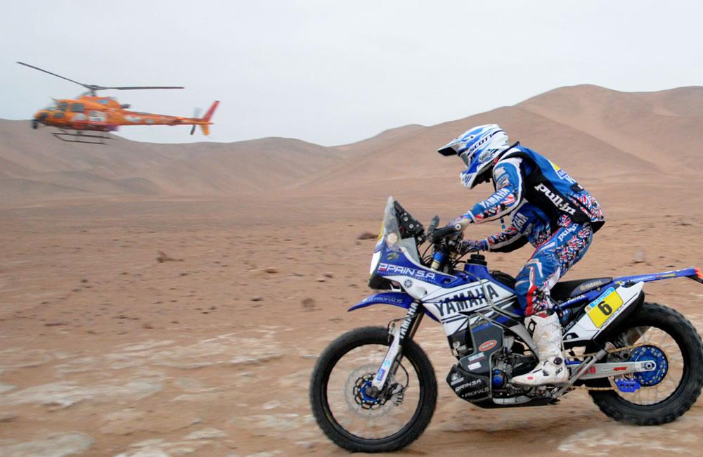 Barreda gana la décima etapa y recorta 11 minutos a Coma, líder del Dakar