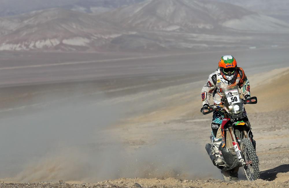 Coma gana la undécima etapa del Dakar en motos y amplía ventaja sobre Barreda