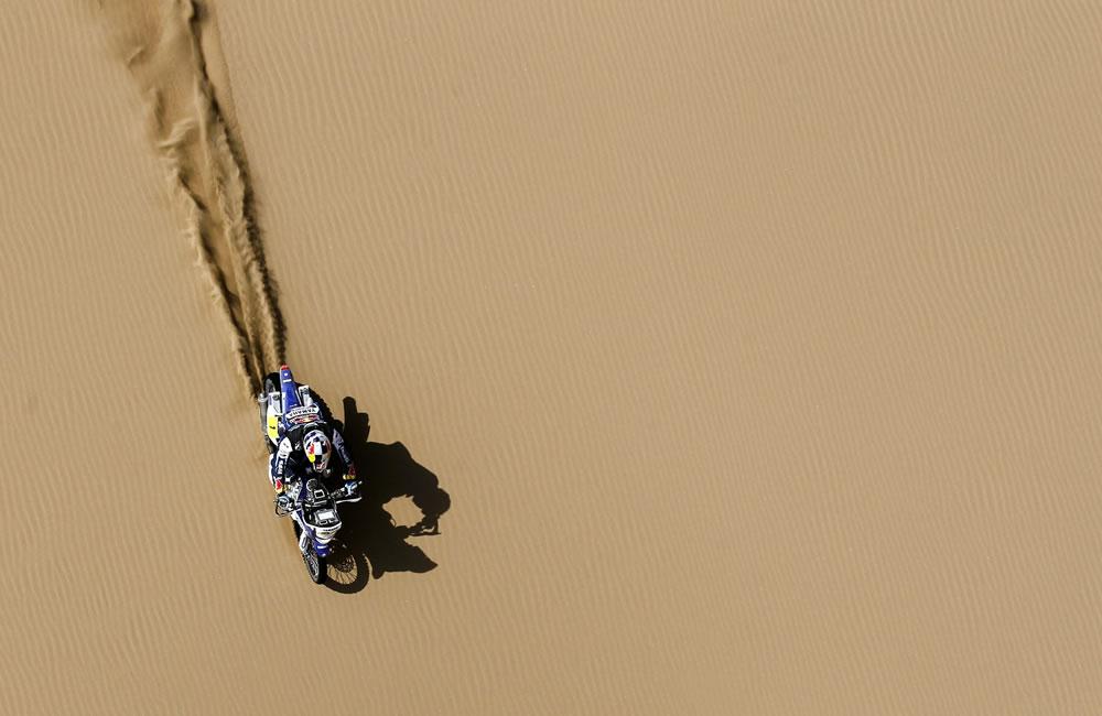 Despres gana la penúltima etapa del Dakar y Coma acaricia el título