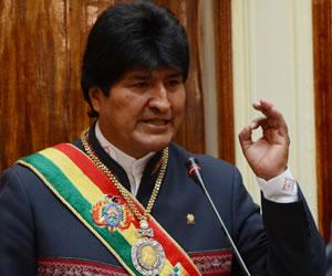 Morales reconoce que Bolivia se encuentra mal en el sistema de justicia