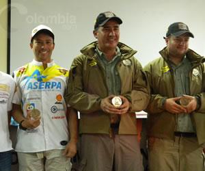 Así recibieron a los pilotos colombianos que participaron en el Rally Dakar 2014. Foto Colombia.com