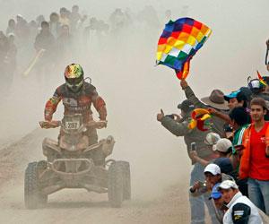 Chuquisaca anuncia apoyo para que Nosiglia esté en el Dakar 2015