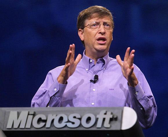 Bill Gates, el pasado y el futuro de Microsoft. EFE