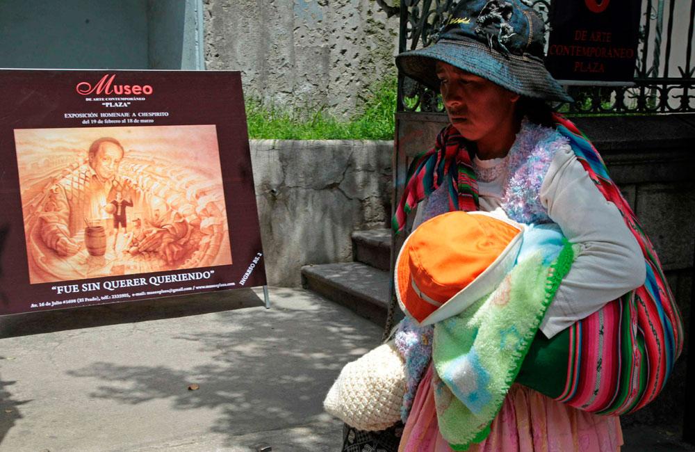 Artistas bolivianos homenajean a Roberto Gómez Bolaños