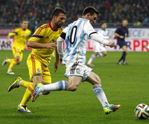 Argentina se marcha de Rumanía con mal sabor tras un empate sin goles