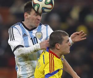 Argentina igualó sin goles en Rumanía