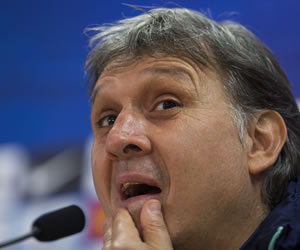 Martino: 'Tenemos que ganar todos los partidos que quedan de Liga'