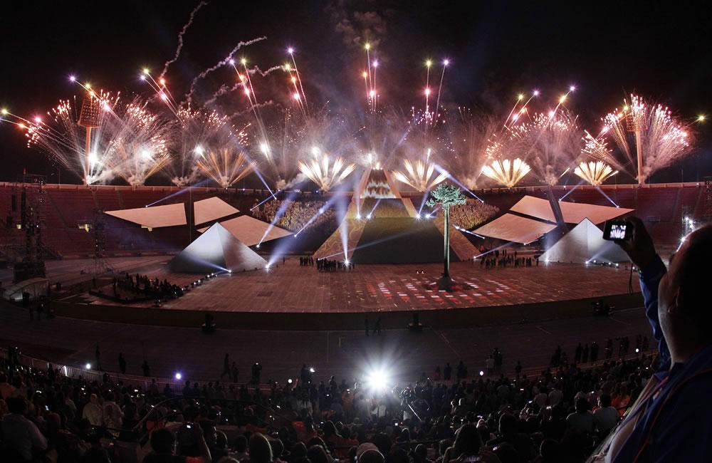 Color y música en apertura de Odesur que rinde homenaje a Chile y su deporte