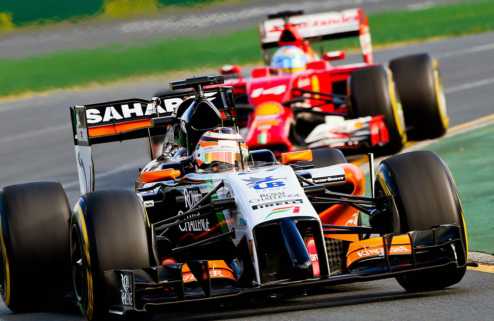 El piloto alemán Nico Rosberg durante el Gran Premio de Australia. Foto: EFE