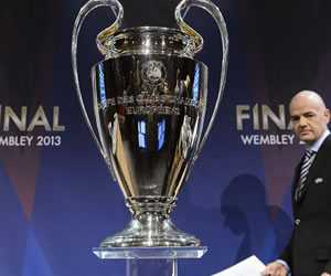 Atlético, Barça y Real Madrid esperan esquivarse en el sorteo de mañana