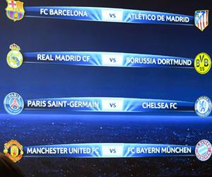 Barcelona-Atlético y opción de revancha para el Real Madrid ante el Dortmund