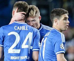 Imágenes de la victoria del Chelsea ante el PSG