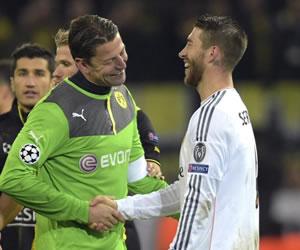 Real Madrid a semifinales tras sufrir y caer en Dortmund