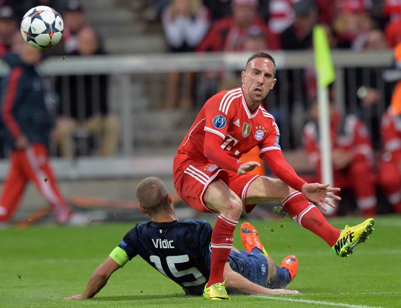 El Bayern venció al United y es semifinalista
