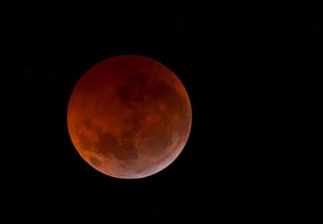 Eclipse lunar la semana próxima, primero de una rara tétrada de