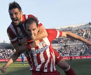 El Atlético de Simeone no falló en Getafe y se apunta al 'final a final'