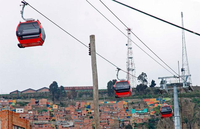 Hinchas de Bolívar y The Strongest tendrán viajes gratuitos por teleférico