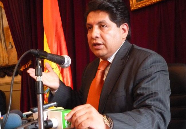 Ruddy Flores, magistrado del Tribunal Constitucional Plurinacional. Foto: ABI