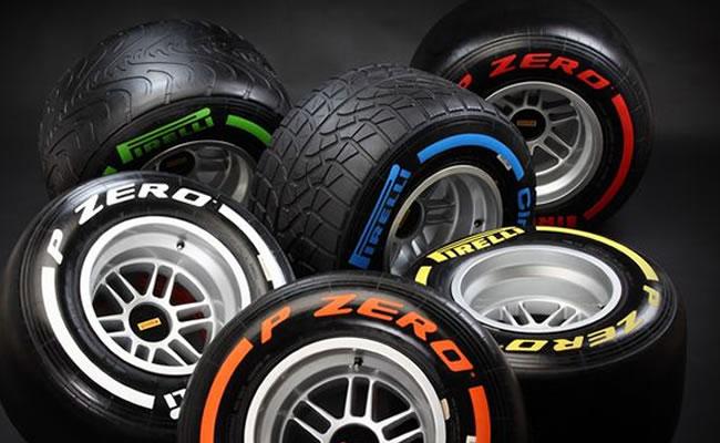 Pirelli elige los dos neumáticos más duros para Barcelona. Foto: EFE